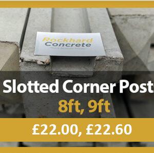 Slotted Corner Posts