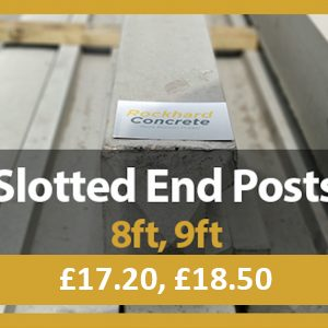 Slotted End Posts
